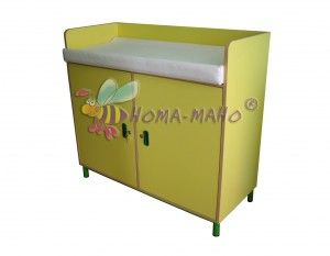 mobiliario guarderias cambiador con laterales