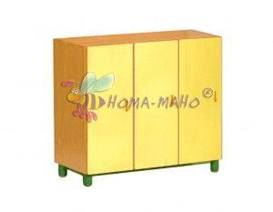 Mobiliario-Guarderias-Armario medio con puertas